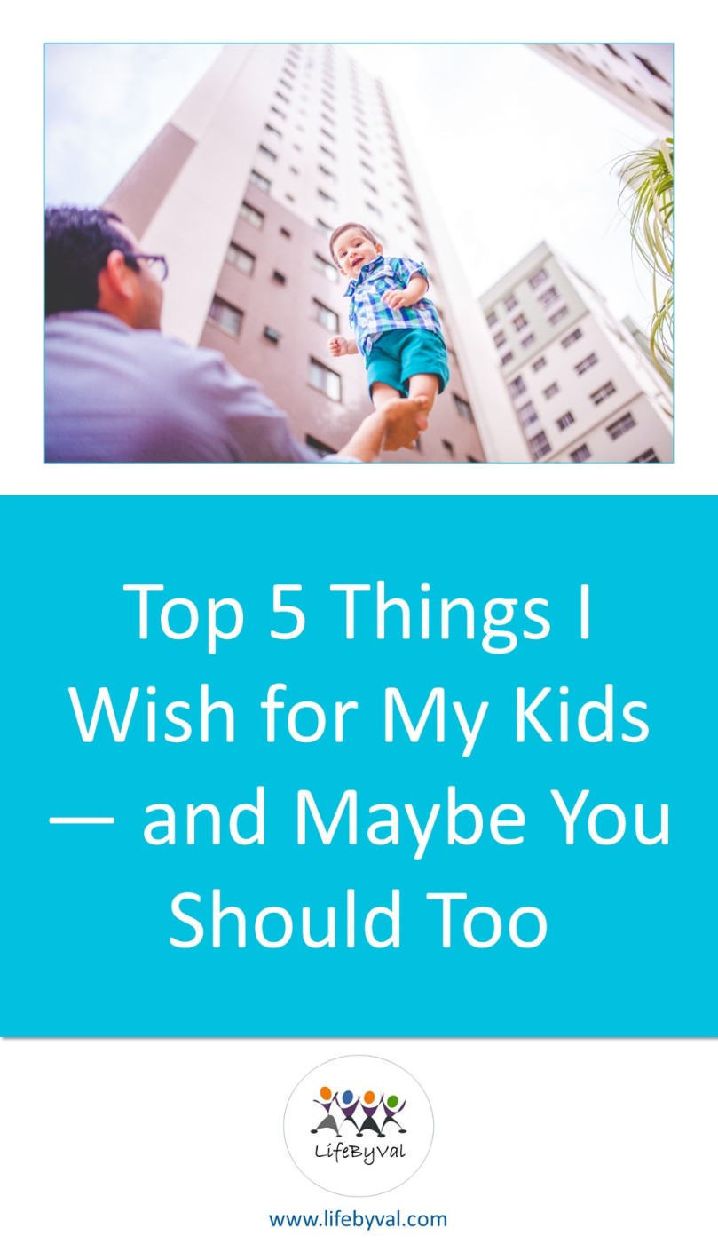 Pinterest image of parenting and lifestyle blog LifeByVal.